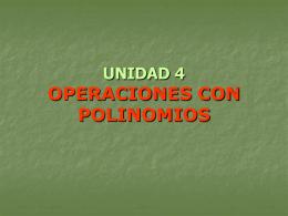 UNIDAD 4 - FES Acatlán - Matemáticas e Ingeniería