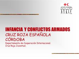 INFANCIA Y CONFLICTOS ARMADOS CRUZ ROJA ESPAÑOLA