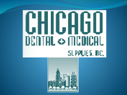 ¿A qué se dedica la empresa Chicago dental?