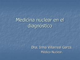 Medicina nuclear en el diagnóstico
