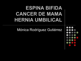 ESPINA BIFIDA - Fisioterapia