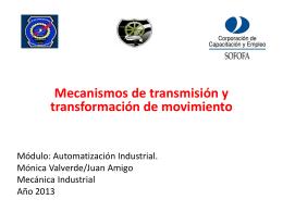"""Piñones y cadenas - Liceo Industrial """"Vicente"""