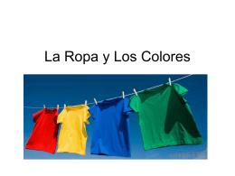 La Ropa y Los Colores - Portland Public Schools