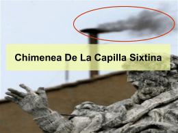 Chimenea De La Capilla Sixtina