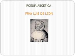 POESÍA ASCÉTICA FRAY LUIS DE LEÓN