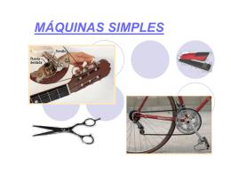 CLASES DE MÁQUINAS SIMPLES