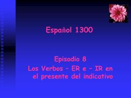 Español 1300 Primavera, 2008
