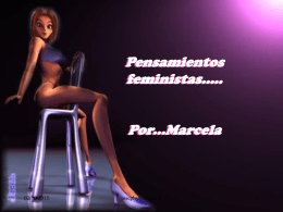 Pensamientos feministas