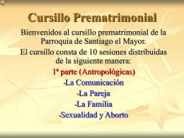 Cursillo Prematrimonial - Parroquia Santiago el