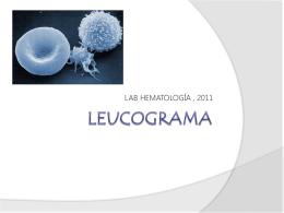 LEUCOGRAMA - qbhematologia