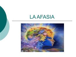 LA AFASIA