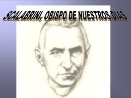 SCALABRINI, OBISPO DE NUESTROS DÍAS