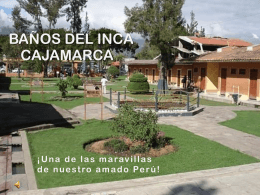 Baños del Inca, Cajamarca