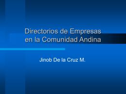 Directorios de Empresas