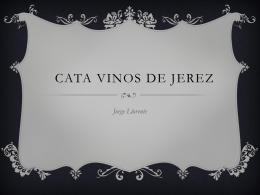 CATA VINOS DE JEREZ