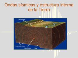 Ondas sísmicas y estructura interna de la Tierra