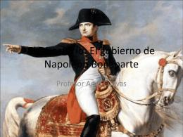 El Directorio: El gobierno de Napoleón Bonaparte
