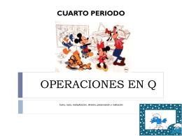 OPERACIONES EN Q