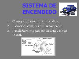 SISTEMA DE ENCENDIDO - Web del Departamento de