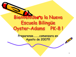 Oyster-Adams Bilingual Middle School