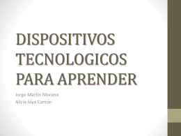 DISPOSITIVOS TECNOLOGICOS