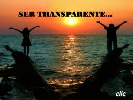 Ser Transparente! - Ingeniera Karla Elisabeth