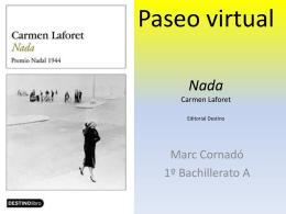Paseo virtual Nada Carmen Laforet