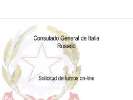 Consolato Generale d'Italia ROSARIO