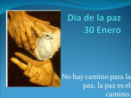 Dia de la paz 30 Enero - El portal de la educación