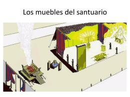 Los muebles del santuario