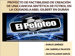- Shirley Jiménez - Ma. Gabriela Palacios