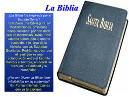 La Biblia - PALABRA DE DIOS 2015