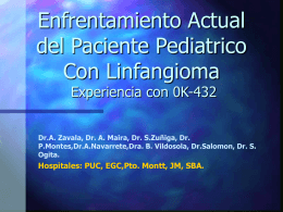 Enfrentamiento Actual del Paciente Pediatrico Con