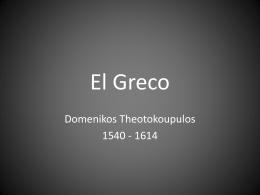El Greco - Salina Public Schools / Overview