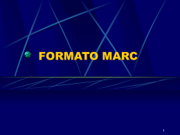 FORMATO MARC