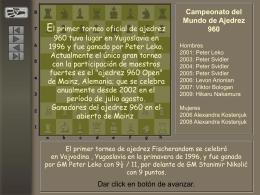 Ajedrez 960 Campeones Mundiales.ppsx