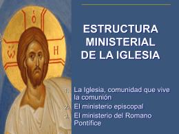 ESTRUCTURA MINISTERIAL - Formación KAIROS |