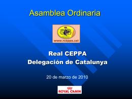 Asamblea Ordinaria - RCEPPA Club del Perro Pastor
