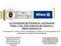 La Universidad de Pamplona, Luis Eduardo Rubio y
