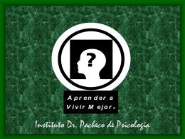 El Autismo - Instituto Dr. Pacheco de Psicologia