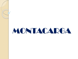 MONTACARGA - logisgroup