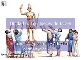 Apostasía y Aflicción - Iglesia Biblica Bautista