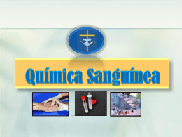 Quimica sanguinea - facultaddemedicina