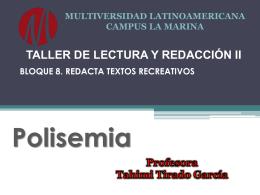 Polisemia - Villa Educación