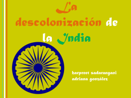 La descolonización de la India