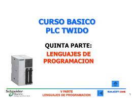 CURSO BASICO PLC TWIDO