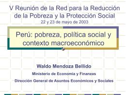 Quinta Reunión de la Red de Pobreza del BID