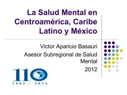 La Salud Mental en Centroamérica
