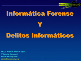 Diapositiva 1 - Ethical Hacking Consultores |