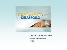 CRECIMIENTO Y DESARROLLO - Pediatría I y Patología